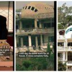 "Why I Built ""Aeroplane House In Abuja"" – Said Jammal (photos)"