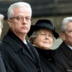 Son of former German president stabbed to death while giving lecture in Berlin (photos)