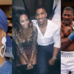 PHOTOS: Anthony Joshua's Girlfriend, DJ Cuppy Is In Saudi Arabia To Support Her Man