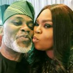 Actor Richard Mofe Damijo Celebrates Wife, Jumobi Adegbesan On Their 19th Wedding Anniversary (photos)