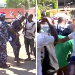 Hoodlums Mercilessly Beat Anti-Buhari Protester Deji Adeyanju (photos)