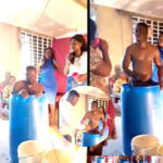 VIDEO & PHOTOS: Drama As Church Members Drink Pastor's Bath Water Inside Church