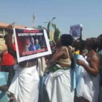 Elderly Women Strip To Bras To Protest Against Sowore's Continued Detention (Photos)