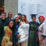 President Buhari's daughter, Hanan graduates with First Class from UK university (Photos)