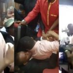 How Sowore was manhandled and re-arrested by the DSS (Video)