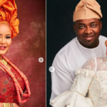 Lagos Monarch, Saheed Elegushi, Celebrates Second Wife On Birthday (Photos)