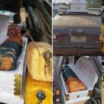 Smugglers Are Caught Hiding Petrol Inside Two Coffins In Ogun (Photos)