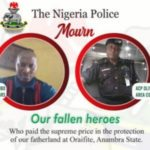 Hours After Bloody Clash, Police Releases Names Of Officers Killed By IPOB Members During Raid At Home Of Nnamdi Kanu's Lawyer