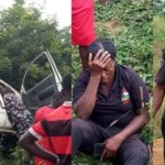 PHOTOS: Good Samaritans Rescue Police Officers In Ebonyi Accident