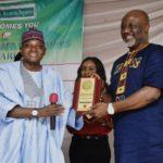 Presidential Aide Garba Shehu Presents 2019 Man Of The Year Award To Melaye (Video/Photos)