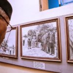 Pictures As Osinbajo Visits The National War Museum In Umuahia