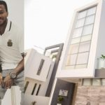 Super Eagles Striker, Olarenwaju Kayode Launches Multi-Million Naira Mansion In Lagos (Photos)
