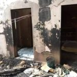 PHOTOS: Fire razes down another building in Yobe