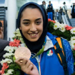 Iran's only female Olympic medalist flees from country