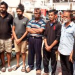 Nigerian Navy Arrests 7 Sri Lankans, 2 Ghanaians For Illegal Activities (photos)