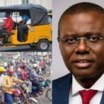 Breaking: Lagos bans Okada, Tricycle riders in 15 LGs/LCDAs