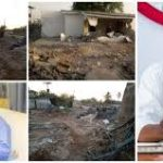 Kwara Govt Demolishes Saraki's Popular Family House 'Ile Arugbo' (Photos)