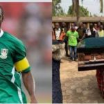Former Nigerian Striker, Isaac Promise Buried Amidst Tears With No Single NFF Officials In Attendance