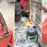 VIDEO: Terrible Condition Of Edo Billionaire, Cacudu Benson's Alleged First Wife As She Cries Out For Help