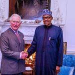 President Buhari Visits Prince Charles Ahead Of UK-Africa Summit (PHOTOS)