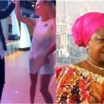 Ailing Fayose Caught Dancing With White Lady Abroad, Lauretta Onochie Reacts (photos & video)