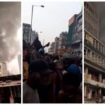 Just In: Popular Balogun Market On Fire (Photos & Video)