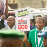Pastor E.A Adeboye leads RCCG march against worsening insecurity in Nigeria (PHOTOS & VIDEO)
