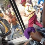 Nigerians React As LASMA Exchange Punches With Agbero In Lagos