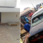 GRAPHIC PHOTOS: Armed Robbers Attack Two Banks Kill Four Policemen & Others In Ondo