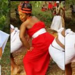 Actress Chioma Akpotha Under Fire For Twerking In A Benin Queen Attire