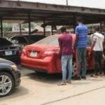 EFCC Arrests Nine 'Yahoo Boys', Seizes Exotic Cars In Lagos