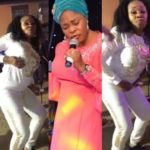 Tope Alabi Reacts After Being Criticized Over Her Zanku Dance, Says It Is Spiritual