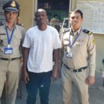 Homeless Nigerian Man Arrested In Cambodia, Says He Has No Job, Passport And Money (photos)