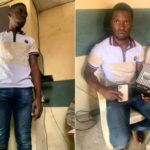 Man Who Just Got Out Of Prison Pleads For Mercy After Purchasing 2 Iphone11 Pro With Fake Bank Alert (Video)