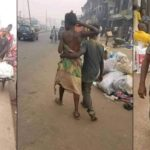 Mentally- Challenged Couple Spotted Celebrating Valentine's Day In Edo (Photos)