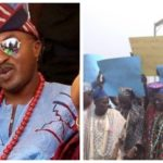 PHOTOS: Residents Of Ogbaagba, Iwo And Ile-Ogbo Storm Govt's Office, Call For Oluwo's Suspension