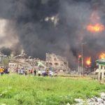 Pipeline Explosion At Abule Ado Amuwo Odofin, Lagos (Photos & Video)