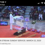 Bishop Oyedepo Criticized For Holding Service At Canaanland Amid Covid-19 (PHOTOS)