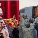Dethroned Emir Sanusi Arrives Nasarawa