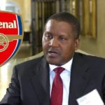 Aliko Dangote told he must pay at least £2bn for Arsenal takeover