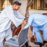 Breaking: Governor Fayemi Visits Alaafin Of Oyo After Receiving 'Powerful' Warning Letter (PHOTOS)