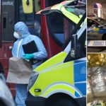 PHOTOS: Man Brandishing Knives Shot Dead By Police In Westminster