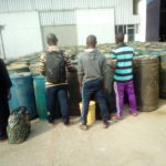 Navy arrests smugglers, seizes 204 drums of diesel bound for Cameroon