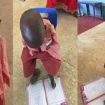 Meet Umar Abdullahi The Armless 4-Year Old Who Writes With His Toes (Photos)