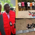 EFCC Arrests 12 Suspected Internet Fraudsters In Ilorin (PHOTOS)