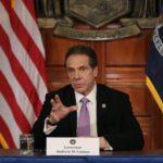 Governor Andrew Cuomo Announces Lockdown In New York Over Coronavirus Outbreak