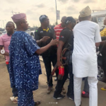 Nigerian Man Accuses SARS Officers Of Assaulting His Mother And 2 Siblings After Bashing Their Car (PHOTOS)