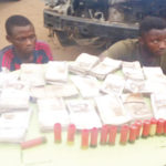 Police Recover N2 Million After Arresting Two Armed Robber During Gunfire Exchange In Oyo