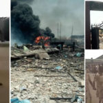 Abule Ado Explosion: Bethlehem Girls College Engulfed In Fire, Schoolgirls Evacuates From Hostel