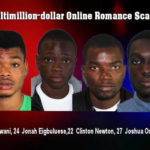 Four Nigerian Students In Canada Wanted For $2 Million Dollar Romance Scam